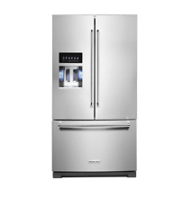 KitchenAid KRFF507HPS 36  Stainless French Door Refrigerator NOB  28993 HL