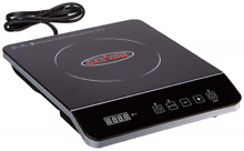 COMMERCIAL INDUCTION BURNER Portable Electric Countertop 1800 W Cooktop Cooker