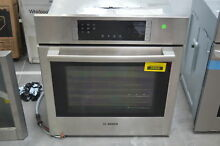 Bosch 800 HBN8451UC 27  Stainless Single Electric Convection Wall Oven  29063