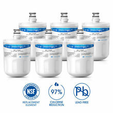 Fits LG Kenmore 46 9890 RWF1050 WSL 1 Comparable Refrigerator Water Filter 6Pack