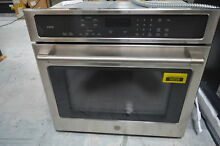 GE CT9050SHSS 30  Stainless Single Electric Wall Oven NOB  29087 HL
