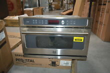 GE CWB7030SLSS 30  Stainless Built In Microwave 1 7 Cu Ft  NOB  29096 HL