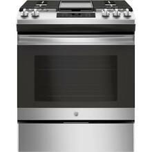 GE JGSS66SELSS 30  Stainless Slide In Gas Range Steam Clean NOB  29092