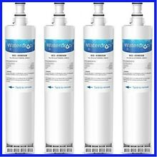 Refrigerator Water Filter for Whirlpool 4396508 4396510 Kenmore 46 9010 4 PACKS
