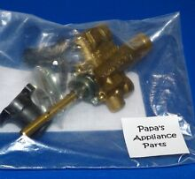 NEW GENUINE OEM GAGGENAU 437586  00437586 GAS COOKTOP GAS BURNER VALVE ASSEMBLY