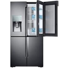 Samsung RF28K9380SG 36  Black Stainless French 4 Door Refrigerator NOB  29287