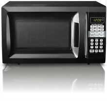 Microwave Oven Hamilton Beach 0 7 Cu Ft Stainless Steel Digital Black