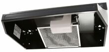 24 in Black Under Cabinet Range Hood Mounting Non Vented Kitchen Stove RL6200