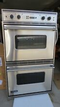 VIKING PROFESSIONAL SERIES VEDO205SS 30  DOUBLE WALL OVEN