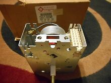 Whirlpool Kenmore Washing Machine Timer 378133 381860 Vintage Made in USA Part