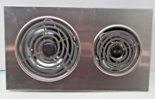 New Jenn Air Expressions Line Electric Coil Cooktop Cartridge stainless AC110S