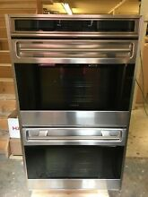 WOLF 30  BUILT IN L SERIES DOUBLE OVEN   UNFRAMED DOOR   DO30U S