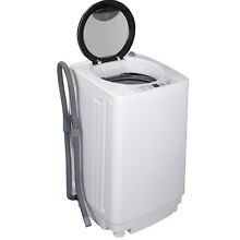 Full Automatic Laundry Wash Machine 8Lbs Washer Spinner W Drain Pump 6 Programs
