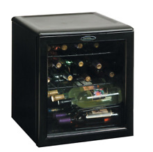 Danby 17 Bottle Wine Cooler With Glass Door   Black