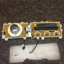 LG Front Load Washer Display Control Board Ebr36870713 with Knob 4941Er3005A