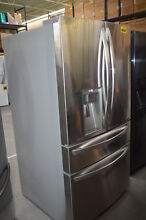 LG LMXS30776S 36  Stainless French Door 2 Drawer Refrigerator CustomChill  29555