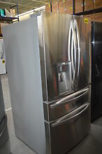 LG LMXS30776S 36  Stainless French Door 2 Drawer Refrigerator  29555 CLW