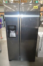 Samsung RH25H5611SG 36  Black Stainless Side By Side Refrigerator  29556