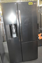 LG LSXS26366D 36  Black Stainless Side By Side Refrigerator  29568