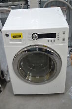 GE WCVH4800KWW 24  White Front Load Washer NOB  29764 CLW