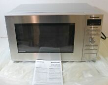 Panasonic 0 8cu ft Countertop Microwave Oven Inverter SS NN SD372S
