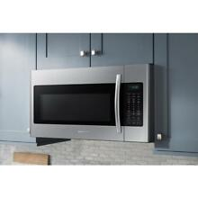 Samsung ME18H704SFS 1000W 1 8 cu  ft  Over the Range Microwave Oven