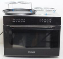 Samsung MC12J8035CT Black Stainless Steel Convection Microwave oven 1 2 CuFt A13