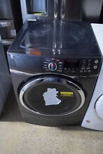 GE GFD45ESPKDG 27  Diamond Gray Front Load Electric Dryer NOB  25503 CLW