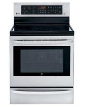 LG LRE3085ST 30  Stainless Freestanding Electric Range NOB  16677 CLW