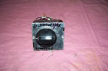 OEM KENMORE DRYER TIMER WITH KNOB   D144444B SEE PICTURES