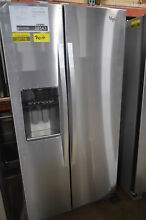 Whirlpool WRS970CIDM 36  Stainless Side By Side Refrigerator NOB  28543 MAD