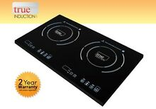 Cooktop True Induction Double Burner Cook top   Counter Inset Model S2F3   TI 2B