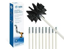 Fette Appliance Flexible Dryer Vent Cleaning Kit  Lint Remover  Extends up to 12
