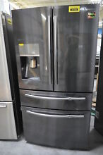 Samsung RF28JBEDBSG 36  French Door Refrigerator Black Stainless  30167 HRT