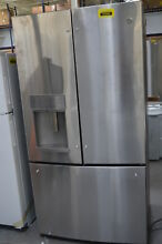 GE Profile PYE22KSKSS 36  Stainless CounterDepth French Refrigerator  29890 CLW