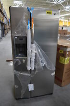 GE GSE23GSKSS 33  Stainless Side By Side Water IceMaker Refrigerator  29881 HRT