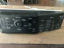 KENMORE ELITE He3 WASHER Model  110 45862401  FRONT PANEL ASSY COMPLETE