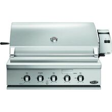 DCS BH136RN 36  Built in OutDoor Grill Stainless Gas Rotisserie  30221 HRT