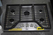 Whirlpool WCG97US0DS 30  Stainless 5 Burner E Z Lift Gas Cooktop  30208 HRT