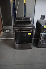 LG DLEX7600KE 27  Black Stainless Front Load Electric Dryer NOB  30257 HRT