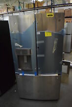 GE Profile PFD28KSLSS 36  Stainless French Door in Door Refrigerator  29977 HRT
