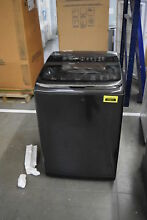 Samsung WA50K8600AV 27  Black Stainless Top Load Washer NOB  30298 HRT