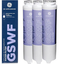 3XPACK GE Gswf Fridge Water Filter General Electric Refrigerator Cartridge