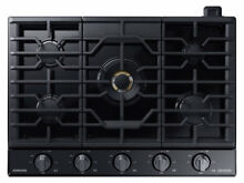 Samsung Chef NA36M9750TM 36  Matte Black Stainless Gas Cooktop  30573 HRT