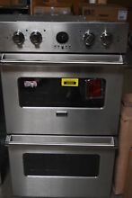 Viking VEDO5302SS 30  Stainless Electric Convection Double Wall Oven  30612 HRT