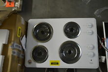 Whirlpool WCC31430AW 30  White Coil Electric Cooktop NOB  30685 HRT