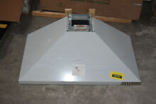 Whirlpool WVW53UC6FS 36  Stainless Wall Mt  Range Hood NOB  30737 CLW