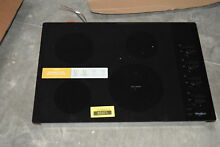 Whirlpool WCE55US0HB 30  Black 4 Burner Electric Cooktop NOB  30738 CLW