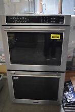 Maytag MEW9630FZ 30  Stainless Double Electric Wall Oven NOB  30826 HRT