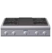Thermador PCG364GD 36  Stainless Pro Style Gas Rangetop NOB  30848 HRT